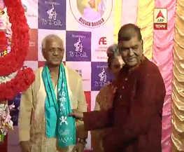 মন্ত্রী শোভনদেবের উপস্থিতিতে খুঁটি পুজো করল ভবানীপুর ৭৫ পল্লী