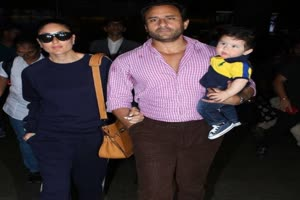 In Graphics: Saif-Kareena's son Taimur Ali Khan teases paparazzi with his cute expressions!