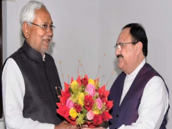 It was nice meeting with CM Nitish Kumar: JP Nadda